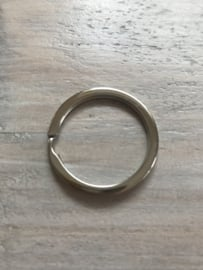 Sleutelring zilver 32 mm
