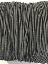 elastisch koord: Zwart per 10 meter