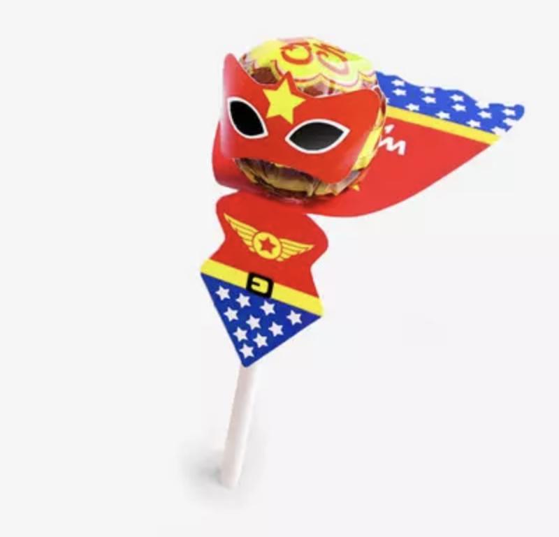 Lollyhouder  Superheldin