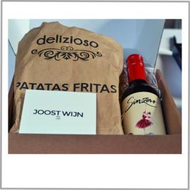 Borrelbox  Sinzero (alcoholvrij) + Patatas Fritas