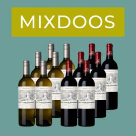 MIXDOOS Château Tour de Mirambeau Réserve Blanc + Rouge I 12 flessen