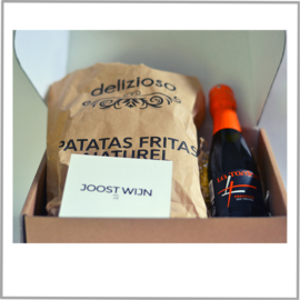 Borrelbox La Tordera Prosecco DOC Trevisio + Patatas Fritas