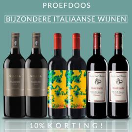 PROEFDOOS Bijzondere Italiaanse rode wijnen