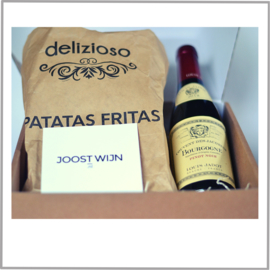 Borrelbox Louis Jadot Bourgogne Chardonnay of Pinot Noir + Patatas Fritas