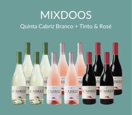 MIXDOOS Quinta Cabriz Branco + Tinto & Rosé