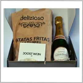 Borrelbox Laurent-Perrier Champagne Brut +  Patatas Fritas