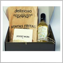 Borrelbox Synera Blanco of Tinto + Patatas Fritas
