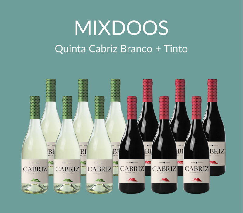 MIXDOOS Quinta Cabriz Branco + Tinto