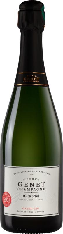 Michel Genet Champagne Grand Cru Blanc de Blancs Brut Spirit I 6 flessen