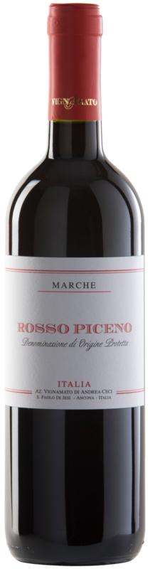Vignamato Rosso Piceno  I 6 flessen