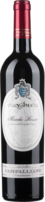 Vignamato Marche Rosso Campalliano  I 6 flessen