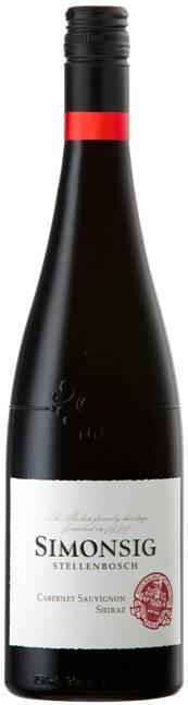 Simonsig Cabernet-Sauvignon/Shiraz I 6 flessen