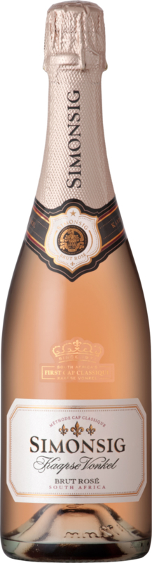 Simonsig Kaapse Vonkel Rosé Brut I 1 fles