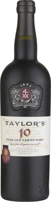 Taylor's 10 Year Old Tawny Port I 1 fles in luxe koker