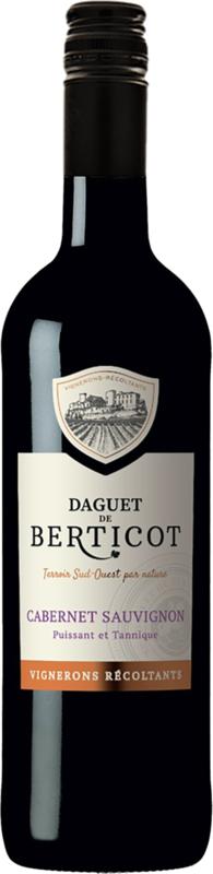 Daguet de Berticot Cabernet Sauvignon I 6 flessen