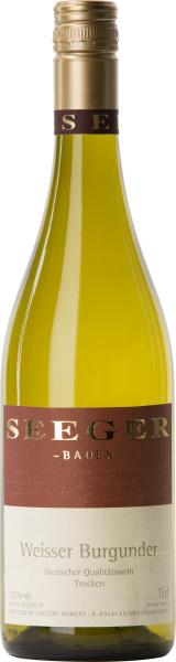 Weingut Seeger Weisser Burgunder I 6 flessen