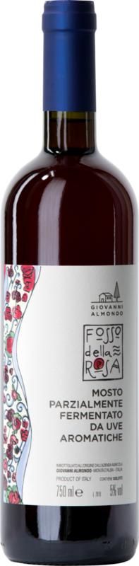 Giovanni Almondo 'Fosso della Rosa' Brachetto del Roero I 1 fles