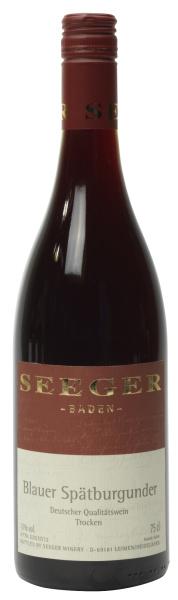 Weingut Seeger Blauer Spätburgunder I 6 flessen