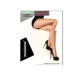 MARIANNE PANTY - met ladderstop - 15 DEN - lyon
