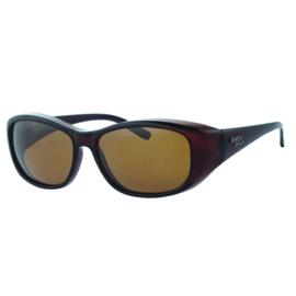 Overzet zonnebril - REVEX - L - bruin