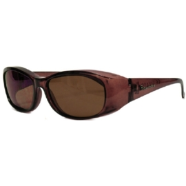 Overzet zonnebril - FIGURETTA - S (300) - coffee