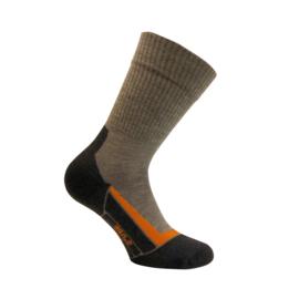 Merino wollen sokken - TREKKING - bruin