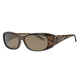 Overzet zonnebril - REVEX - M -  panter bruin