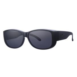 Overzet zonnebril - REVEX - XL -  MEN - zwart