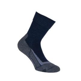 Merino wollen sokken - TREKKING - blauw