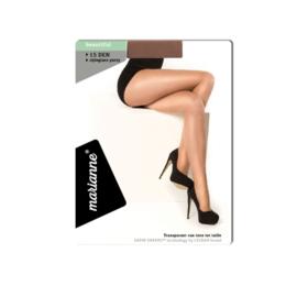 MARIANNE PANTY - met ladderstop - 15 DEN - wine blush