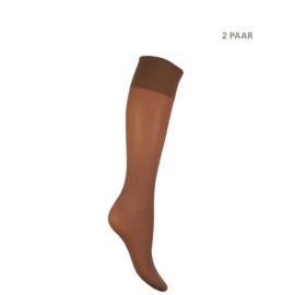 Panty kniekousen - 40 DEN - MOUSSE - 2 PAAR - perle