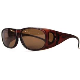 Overzet zonnebril - FIGURETTA - L (100) - coffee