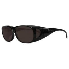 Overzet zonnebril - FIGURETTA - L (100) - zwart