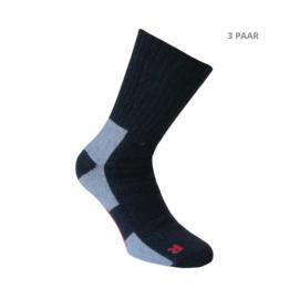 Wollen sokken - THERMO - 3 PAAR - zwart