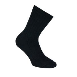 Merino wollen sokken - THERMO - heavy - zwart