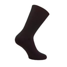 Modal katoenen sokken - COMFORT ANTIPRESS - bruin