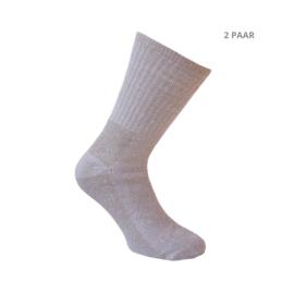 Wollen sokken - TRACKING - 2 PAAR - beige