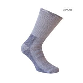 Wollen sokken - TRACKING - 2 PAAR  - blauw