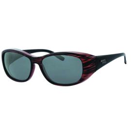 Overzet zonnebril - REVEX - L - rood