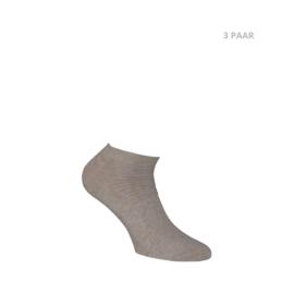 Katoenen sokken - BIKER - 3 PAAR - mix beige
