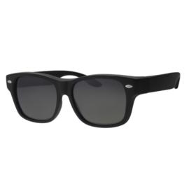 Overzet zonnebril - REVEX - L / XL - mat zwart
