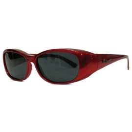 overzet zonnebril - FIGURETTA - S (300) - rood