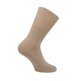 Modal katoenen sokken - COMFORT ANTIPRESS - zand