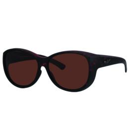 Overzet zonnebril - REVEX - XL - havanna bruin
