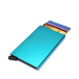 aluminium cardprotector  - FIGURETTA - helderblauw