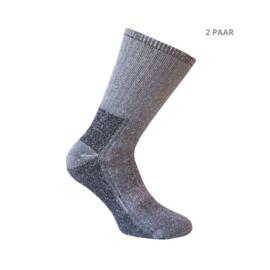 wollen sokken - TRACKING - 2 PAAR - grijs