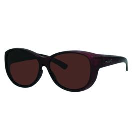 Overzet zonnebril - REVEX - XL - bruin