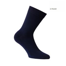 Katoenen sokken -  APOLLO CASUAL - badstofzool -3 PAAR - marine