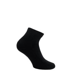 Katoenen sokken - SHORTY TERRY - zwart