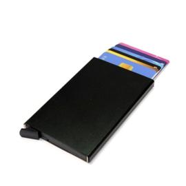 aluminium cardprotector  - FIGURETTA - zwart